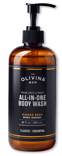 Olivina Men Ginger Beer Shower Gel