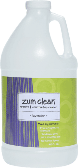 Zum Clean Lavender Granite and Countertop Cleaner (64 oz. refill)