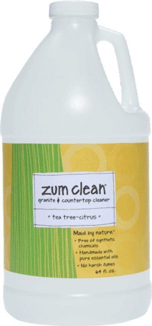 Zum Clean Tea-Tree Citrus Granite and Countertop Cleaner (64 oz. refill)