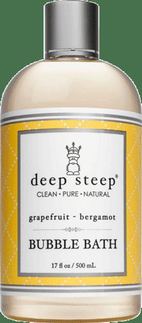 Deep Steep Grapefruit Bergamot Bubble Bath
