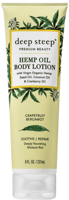 Grapefruit Bergamot Hemp Oil Body Lotion