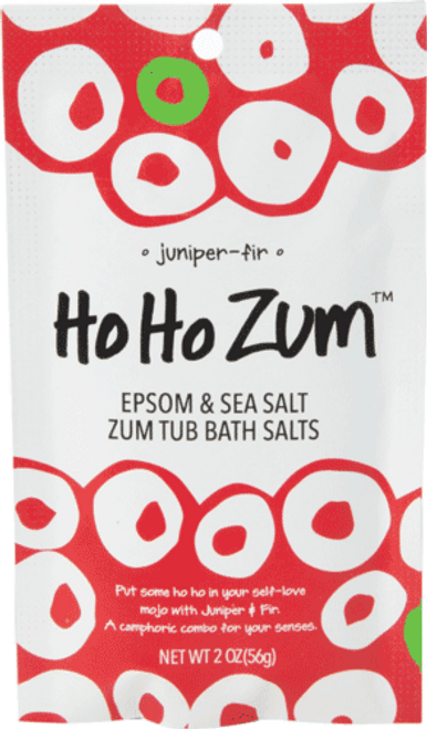HoHo Zum Tub Bath Salt Packet - Juniper Fir
