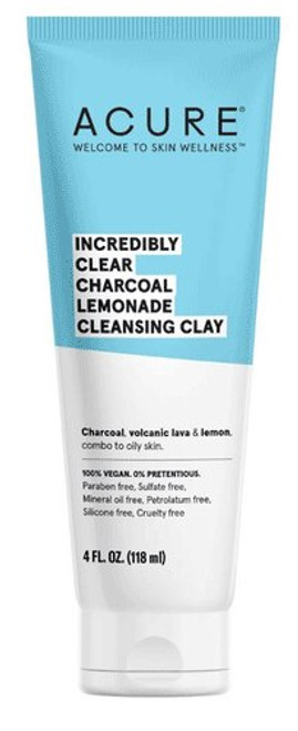 Incredibly Clear Charcoal Lemonade Cleansing Clay