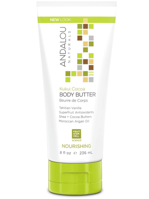 Andalou Naturals Kukui And Cocoa Body Butter