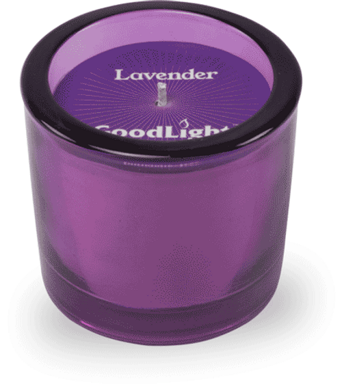 GoodLight Candle Lavender Tinted Votive