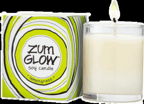 Lemongrass Zum Glow Glass Votive