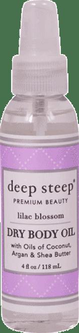 Deep Steep Lilac Blossom Dry Oil Body Spritzer