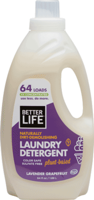Naturally Dirt-Demolishing Laundry Detergent (Lavender Grapefruit)