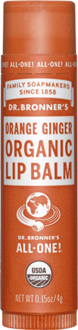 Orange And Ginger Lip Balm