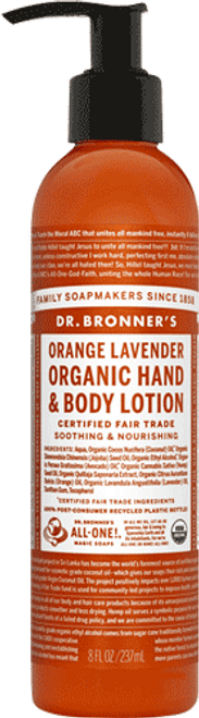 Orange And Lavender Body Lotion