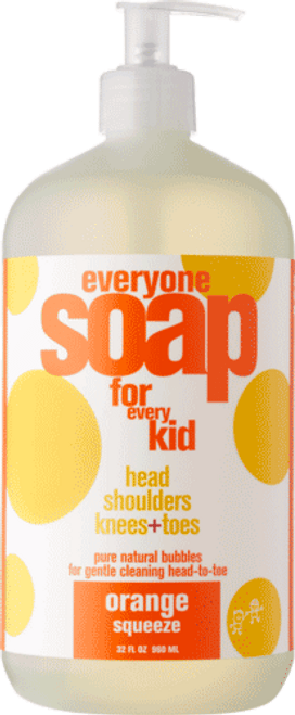 Orange Squeeze Kids 3 in 1 Soap