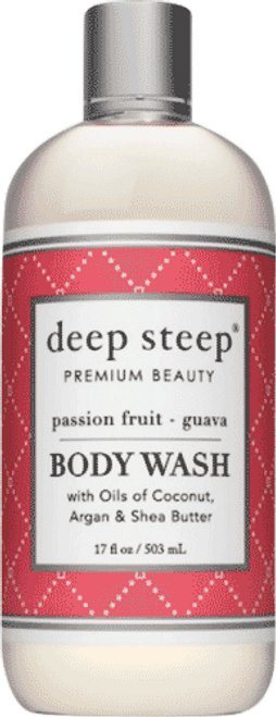 Deep Steep Passion Fruit Guava Body Wash