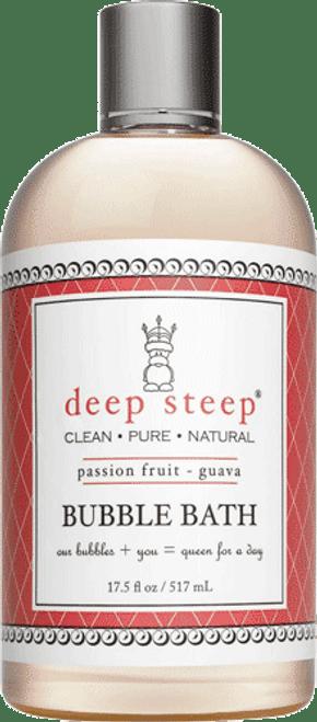 Deep Steep Passion Fruit Guava Bubble Bath