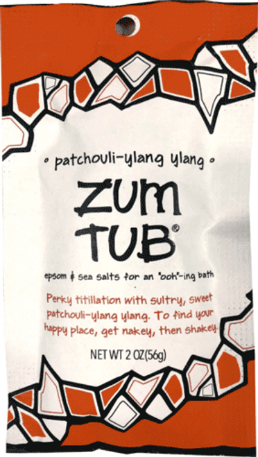 Patchouli-Ylang Ylang Zum Tub Bath Salt Packet