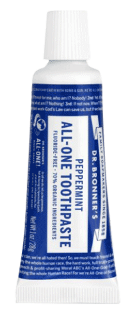Peppermint All-One Toothpaste (Travel Size)