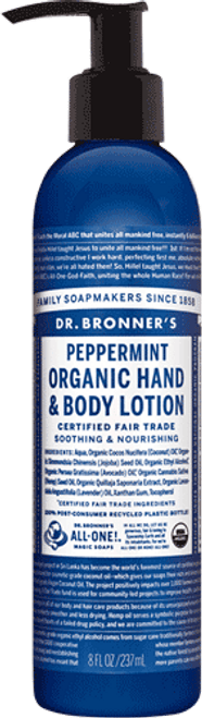 Dr. Bronner's Peppermint Body Lotion