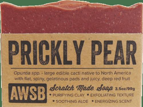A Wild Soap Bar Prickly Pear Organic Soap Bar