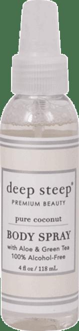 Deep Steep Pure Coconut Body Spray