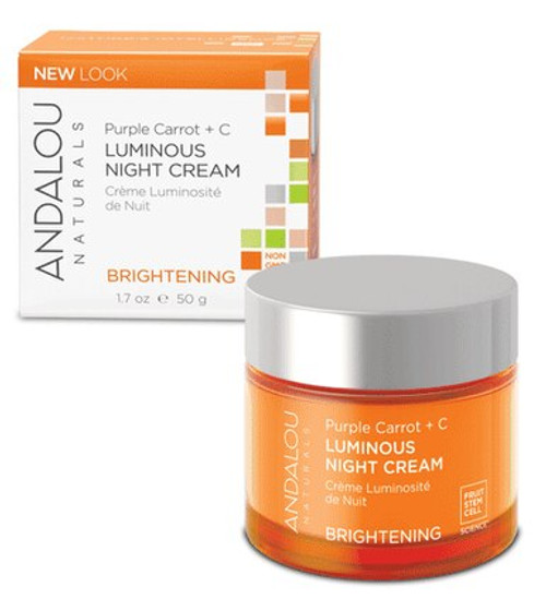 Purple Carrot + Luminous Night Cream