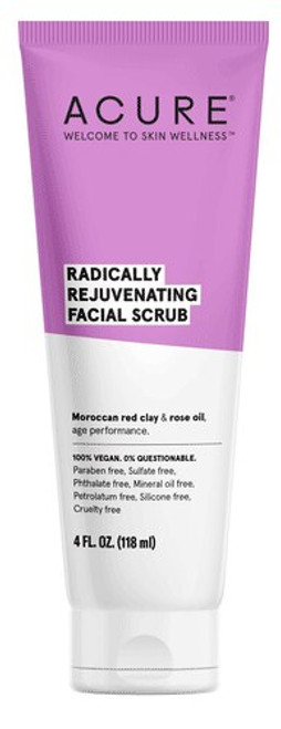 Radically Rejuvenating Facial Scrub