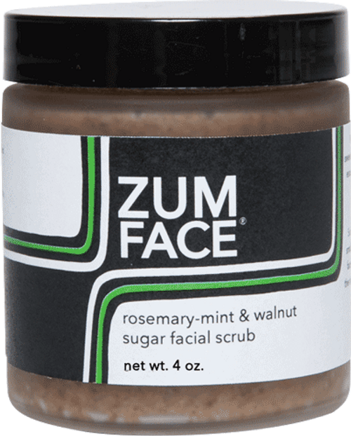 Rosemary Mint Zum Face Walnut Sugar Facial Scrub