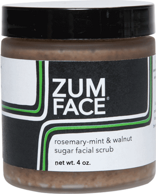 Rosemary Mint Zum Face Walnut Sugar Facial Scrub