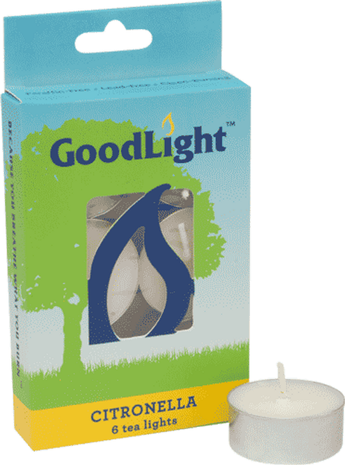 GoodLight Candle Tea Lights (Citronella) - 6 Pack