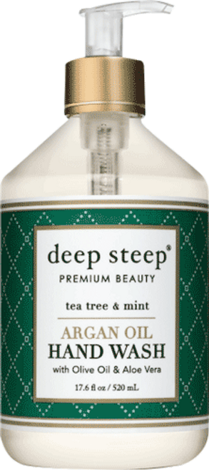 Tea Tree & Mint Argan Oil Liquid Hand Wash