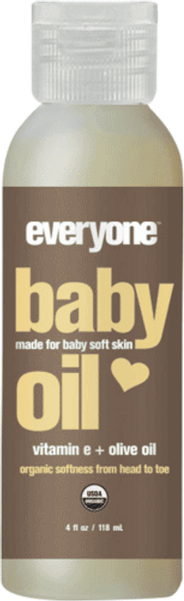 Everyone Unscented Baby Oil