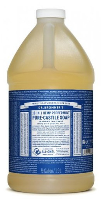 Peppermint Liquid Castile Soap