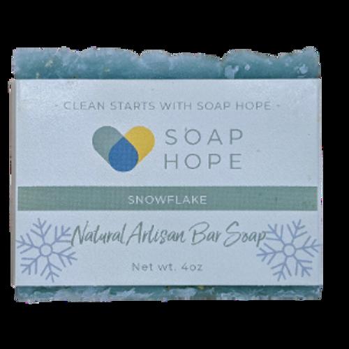 Natural Artisan Soap - Snowflake