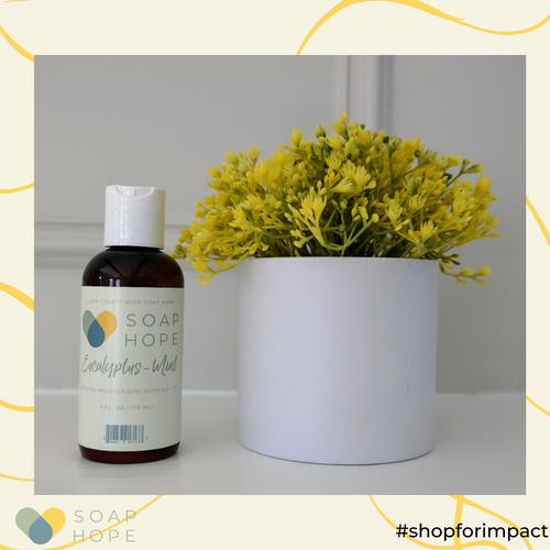 Soap Hope Collection Eucalyptus-Mint Natural Moisturizing Body Lotion - 4oz