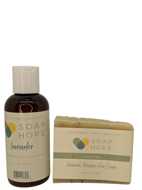 Soap Hope Gift Duo - Lavender