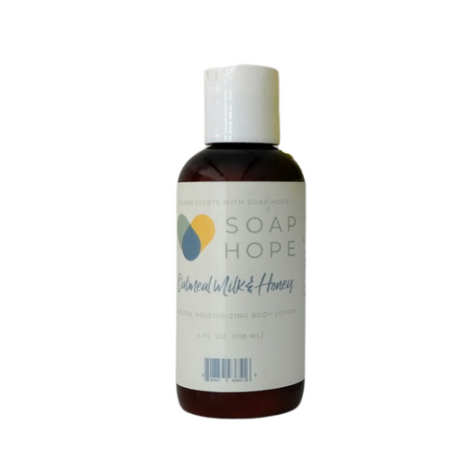 Soap Hope Collection Oatmeal Milk & Honey Natural Moisturizing Body Lotion - 4oz