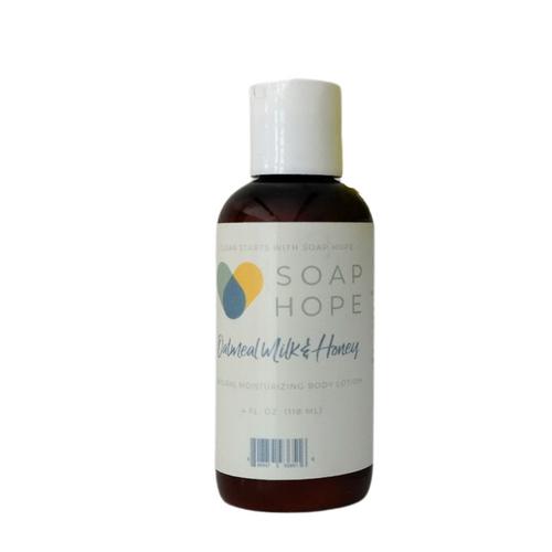 Soap Hope Collection Oatmeal Milk & Honey Natural Moisturizing Body Lotion - 4oz