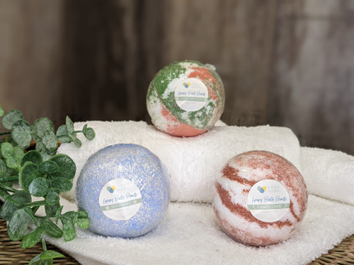 Soap Hope Collection Luxury Spa Bath Bomb  Holiday Trio