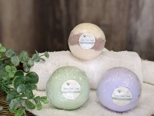 Soap Hope Collection Luxury Spa Bath Bomb  Trio