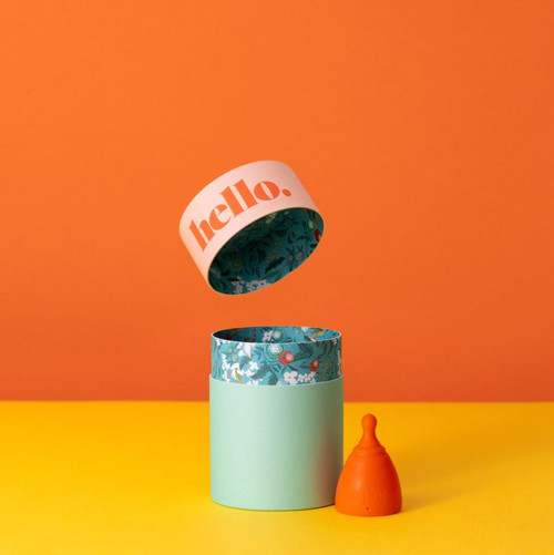 Hello Cup - S/M (small/medium) Orange