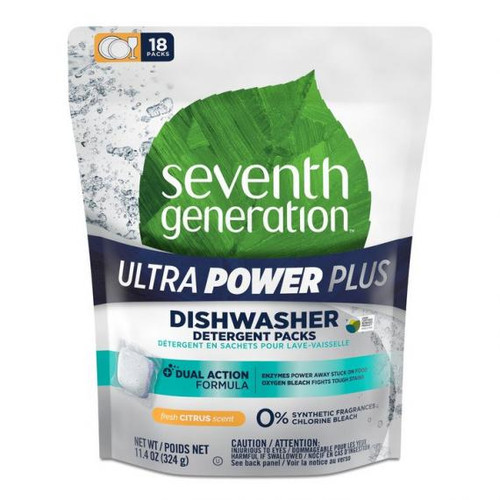 Ultra Power Plus(tm) Dishwasher Detergent Packs