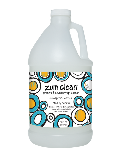 Zum Clean Eucalyptus-Citrus Granite and Countertop Cleaner (64 oz. refill)