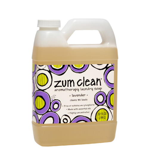 Zum Clean Laundry Soap - Lavender - 32 oz.