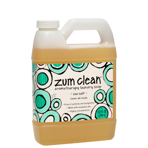 Zum Clean Laundry Soap - Sea Salt - 32 oz.