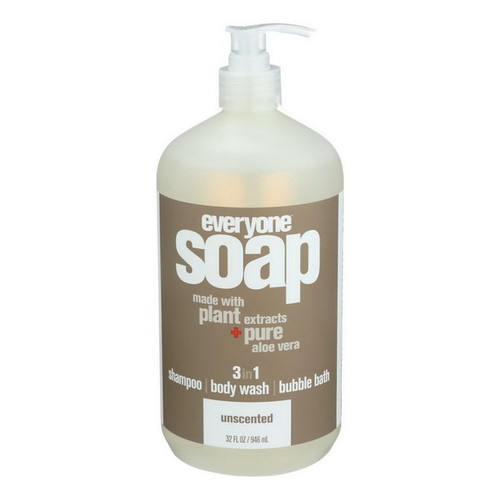 Unscented 3 in 1 Soap