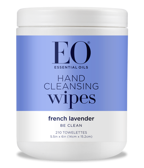 Lavender Hand Cleansing Alcohol Wipes (210 Count)