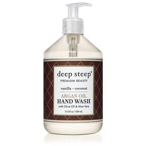 Coconut Vanilla Argan Oil Liquid Hand Wash