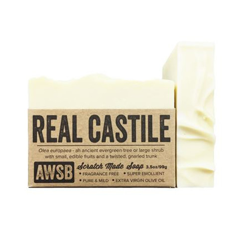 Real Castile Fragrance Free Olive Oil Soap