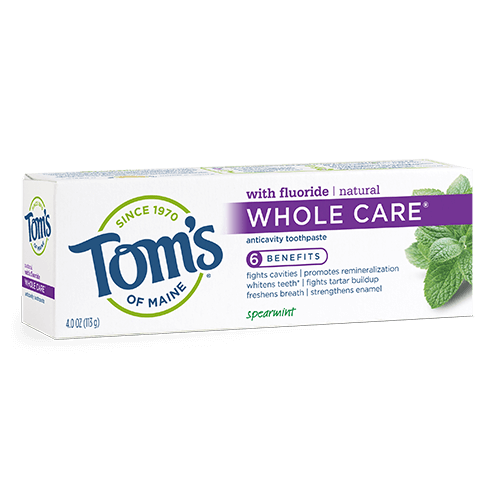 Whole Care Toothpaste - Spearmint