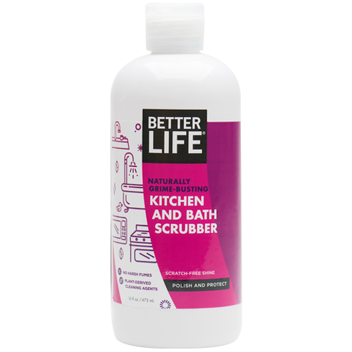 Naturally Grime-Busting Kitchen & Bath Scrubber
