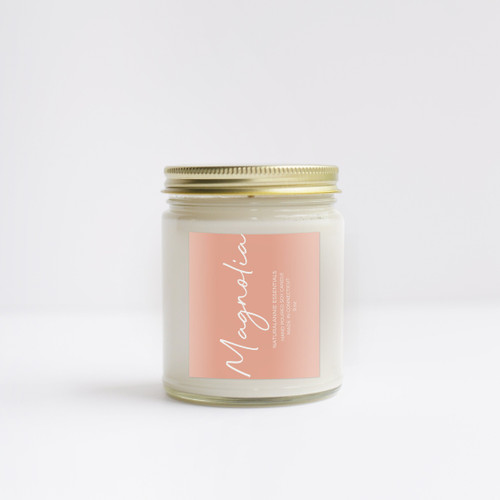 MAGNOLIA Scented Soy Candle