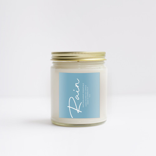 RAIN Scented Soy Candle